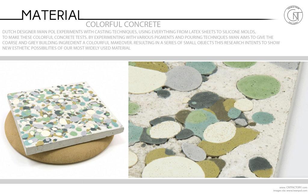 Colorful Concrete