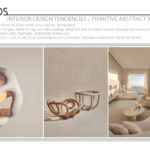 Interior Design Tendencies / Primitive Abstract Motifs
