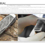 3D Printed Damascus Steel / Mokume Gane