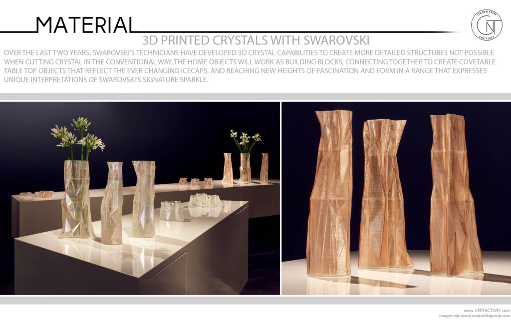 3D Printed Crystals Swarovski