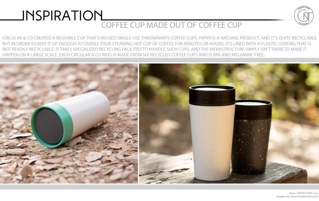 Coffee Cup Made Out Of Coffee Cup