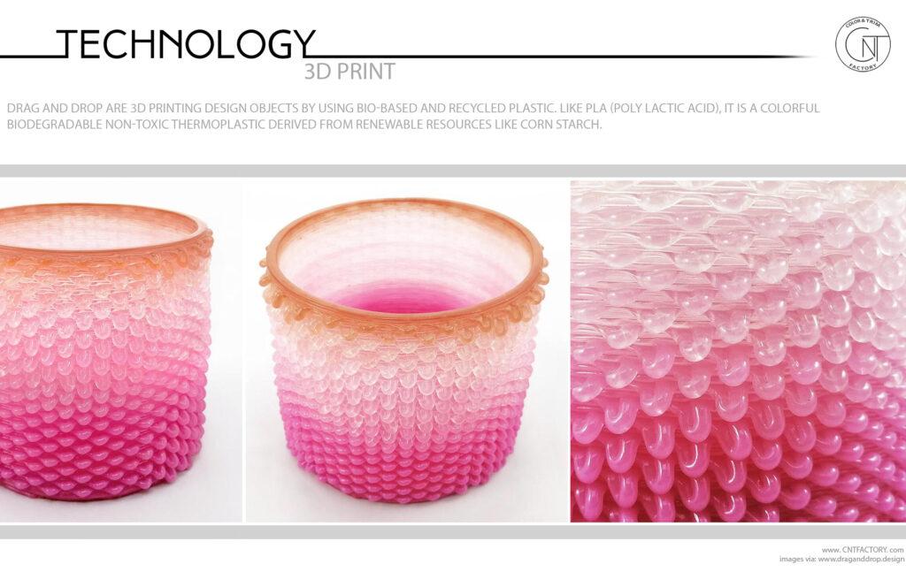 Bio Based 3D Printing