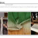Organic Plant-Based Cellulose Lotus Fabric
