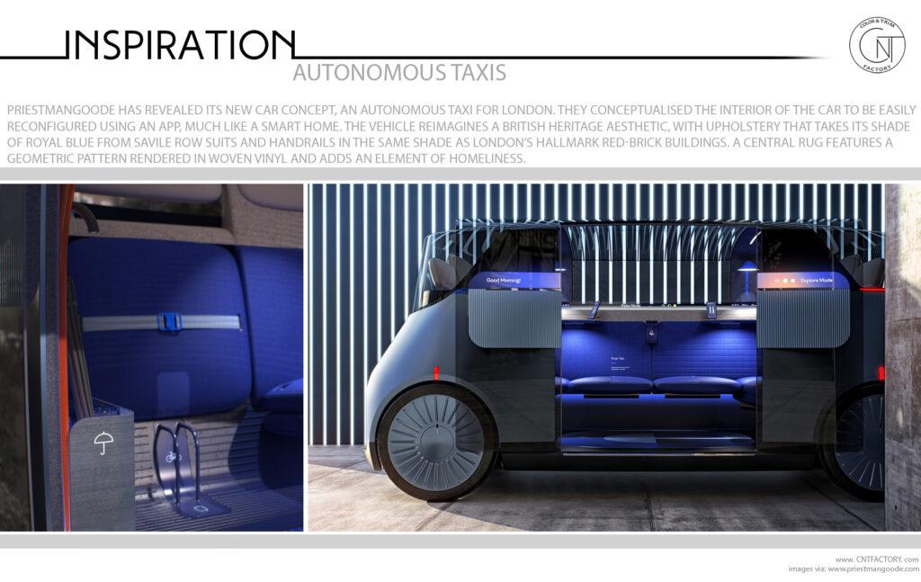 The New Car Autonomous Taxi