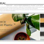 Mirum® - High Performance Plant Leather