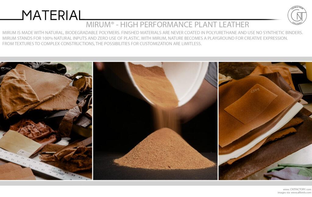 Mirum® High Performance Plant Leather