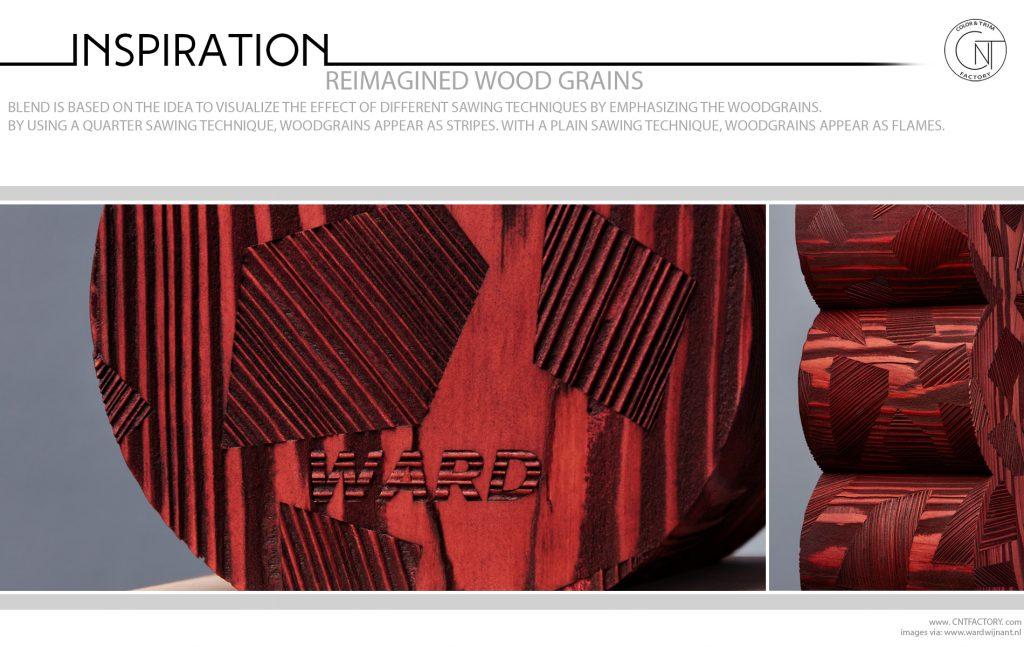 Reimagined Wood Grains
