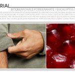 Biodegradable Pomegranate / Eucalyptus Textile