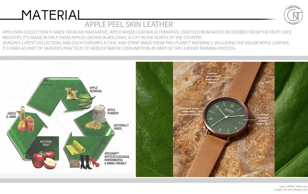 Apple Peel Skin Leather