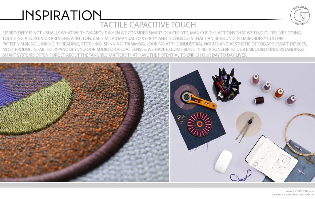 Tactile Capacitive Touch