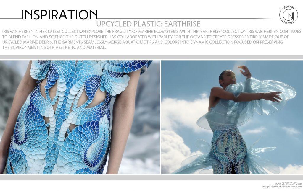 Upcycled Plastic Earthrise