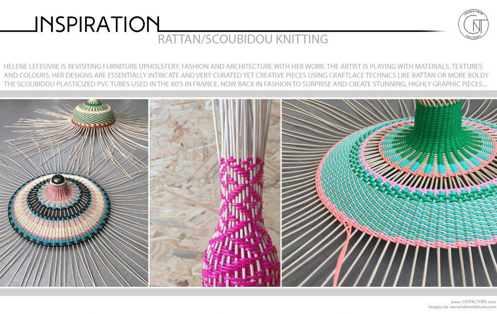 Rattan Scoubidou Knitting