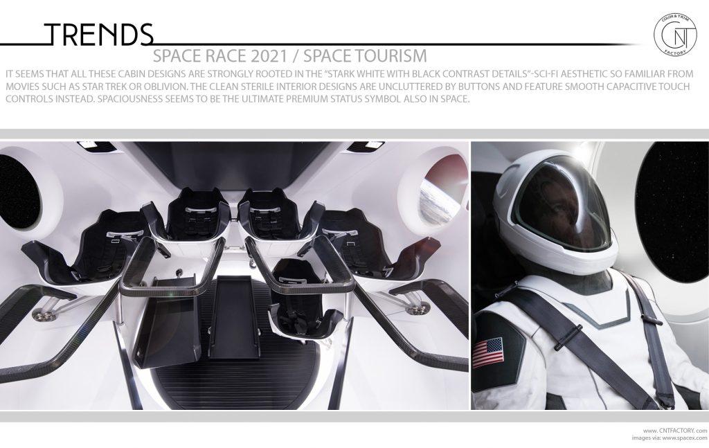 Space race 2021 Space Tourism
