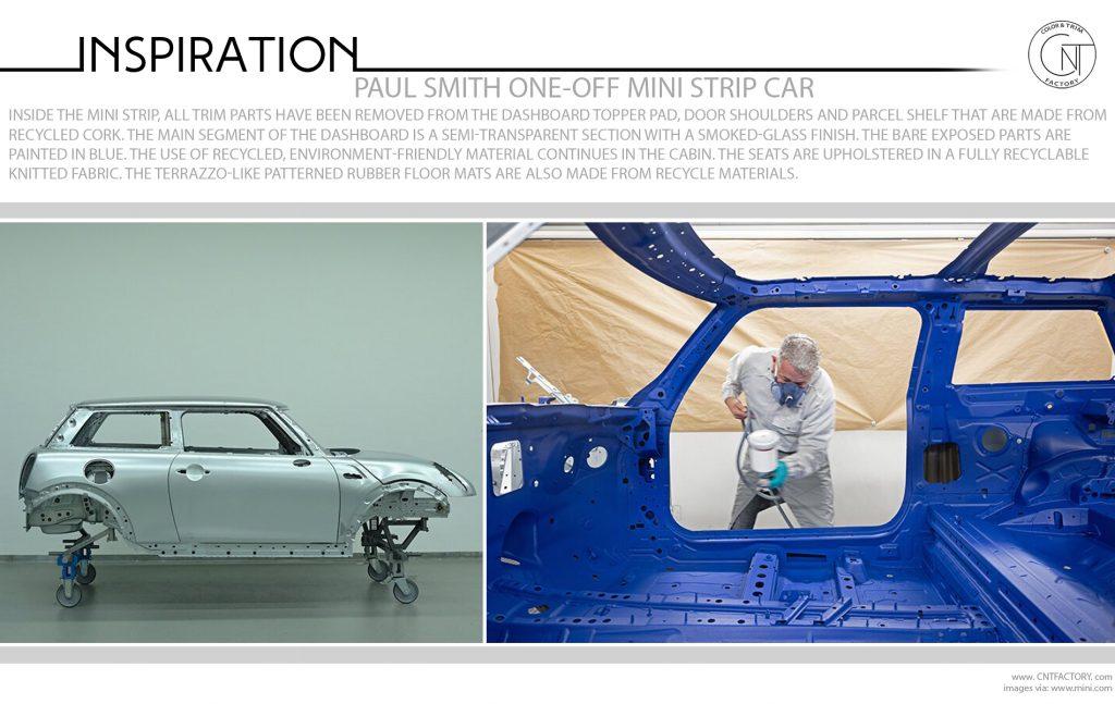 Paul Smith One Off Mini Strip Car