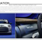 Paul Smith One-Off MINI Strip Car