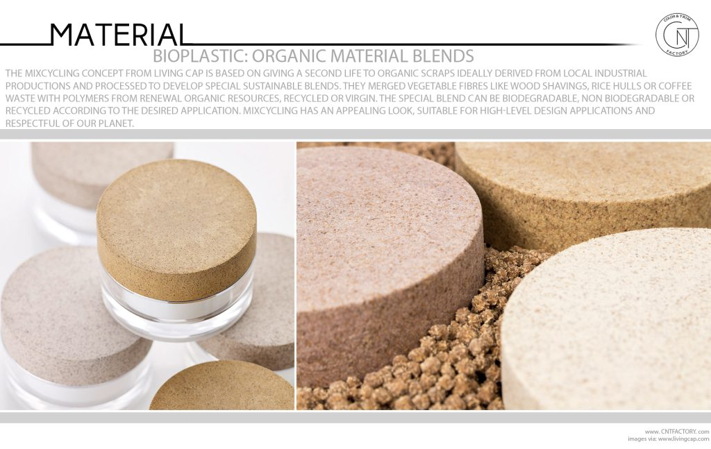 Bioplastic Organic Material Blends